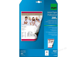 PAPIER FOTO A4 SIGEL 200G MATT IP 681 20ARK