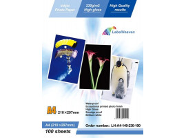 PAPIER FOTO A4 LABELOCEAN 230G HIGH GLOSS 100ARK