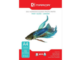 PAPIER FOTO A4 MIRROR 130G HIGH GLOSS 20ARK